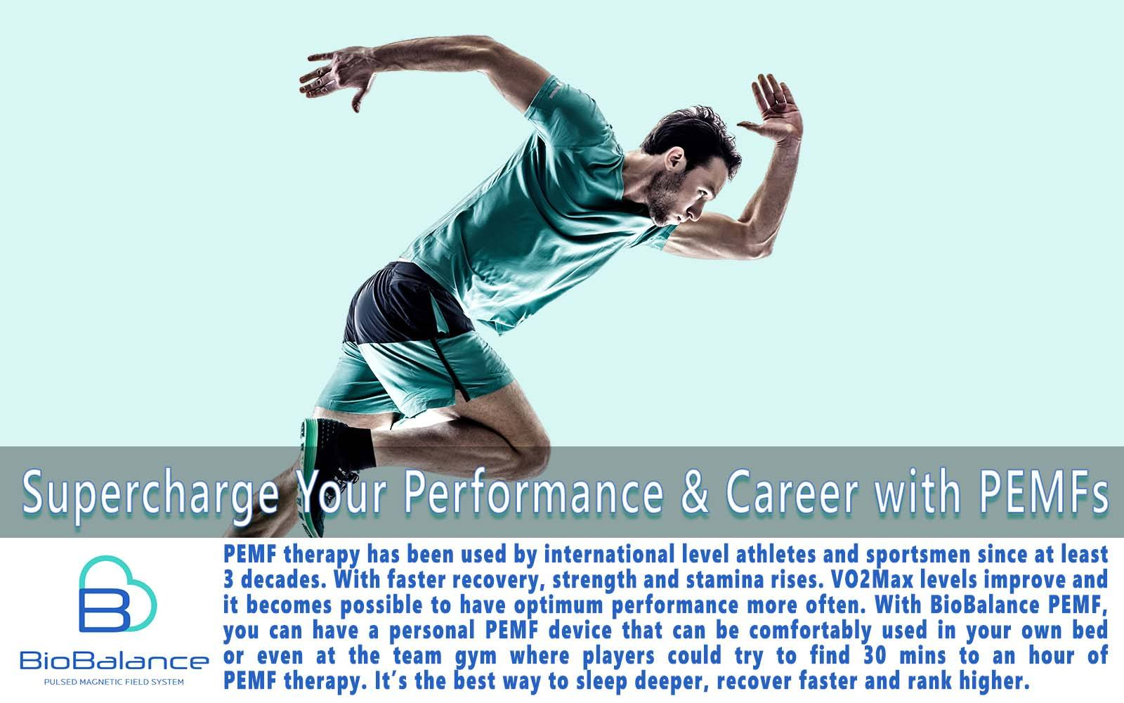 PEMF therapy for Athletic Performance Enhancement