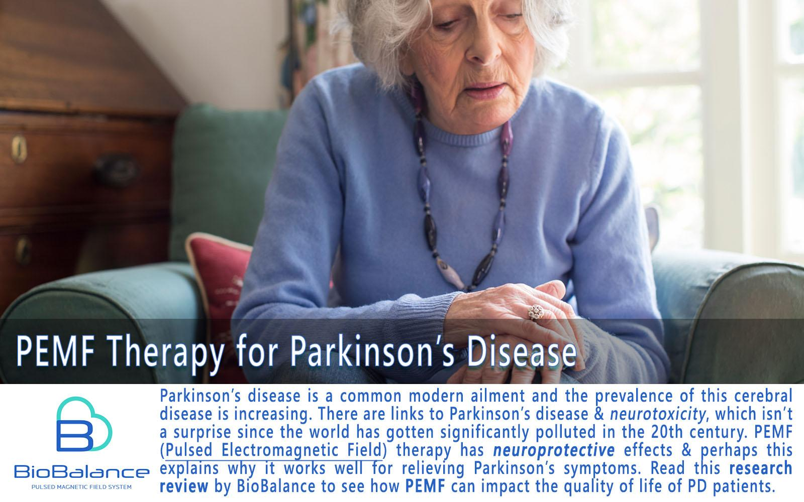 PEMF therapy For Parkinsons Disease