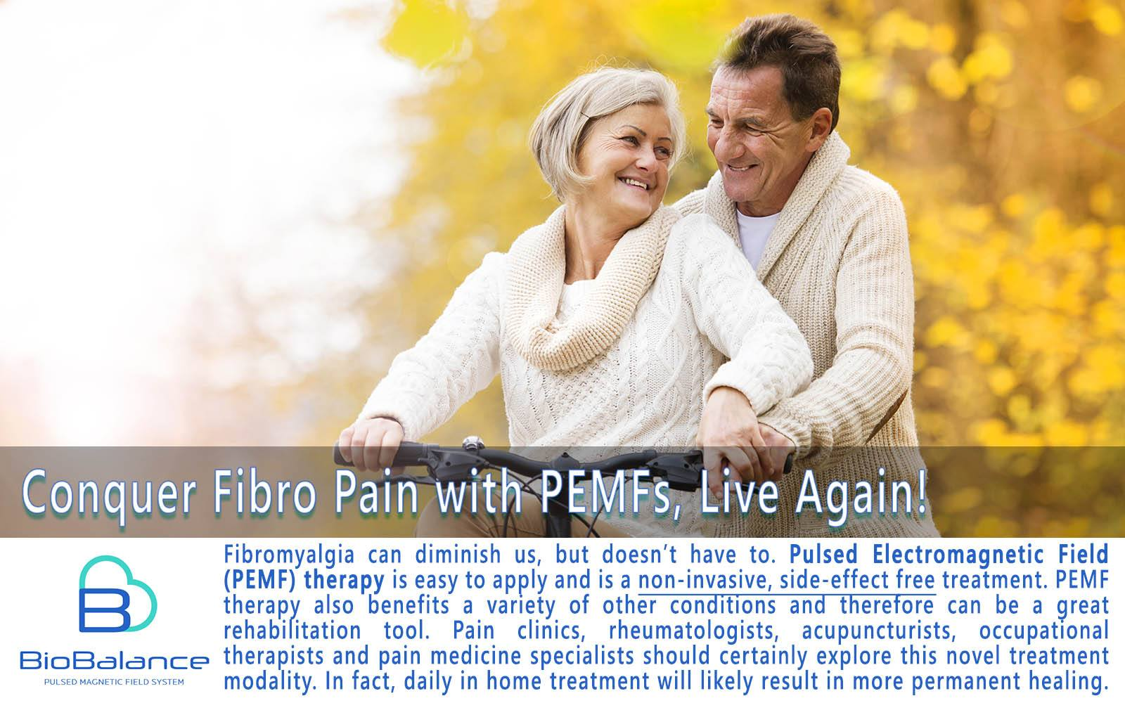Fibromyalgia treatment with pulsed electromagnetic field therapy at home
