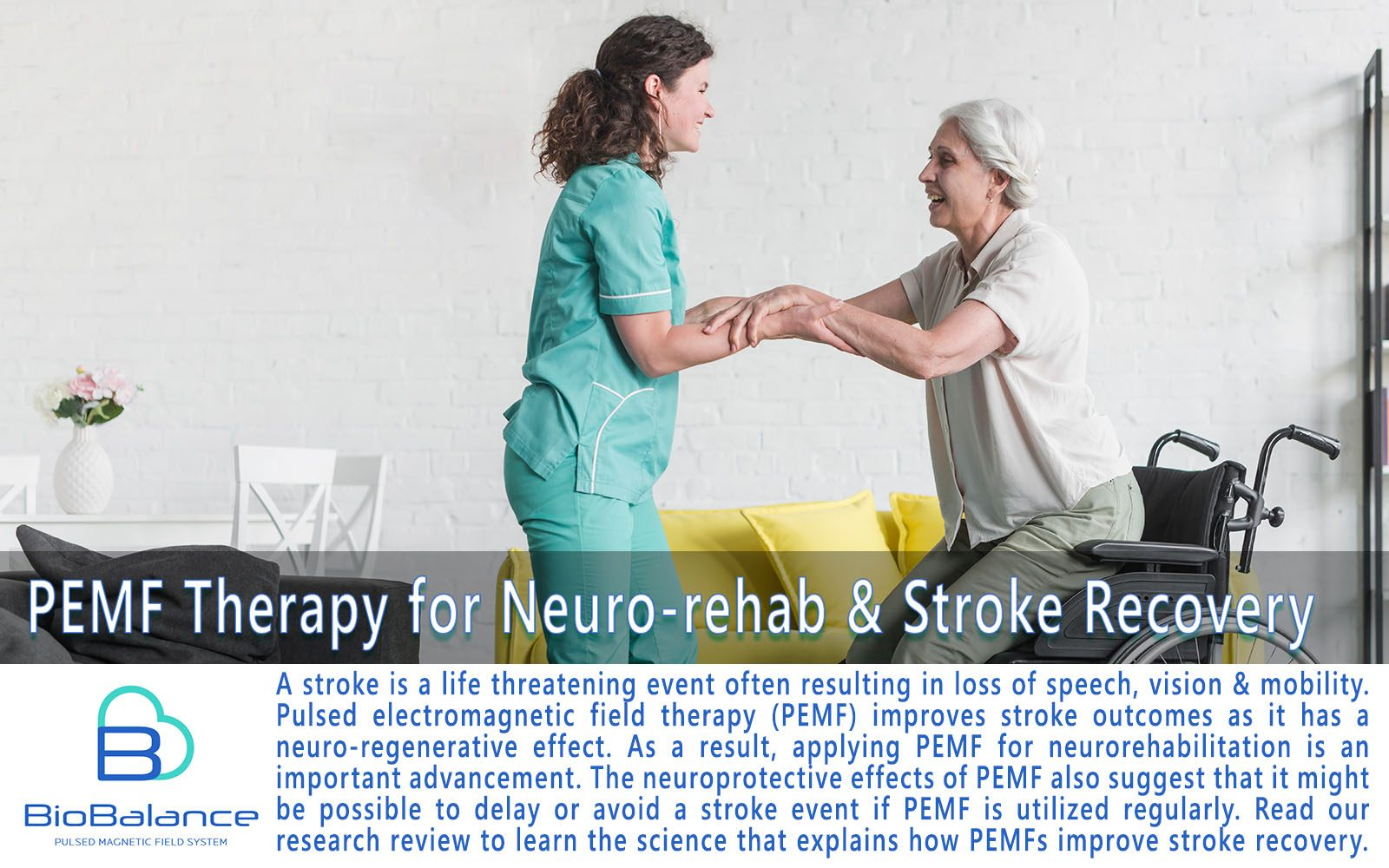 Stroke Rehabilitation with PEMF therapy