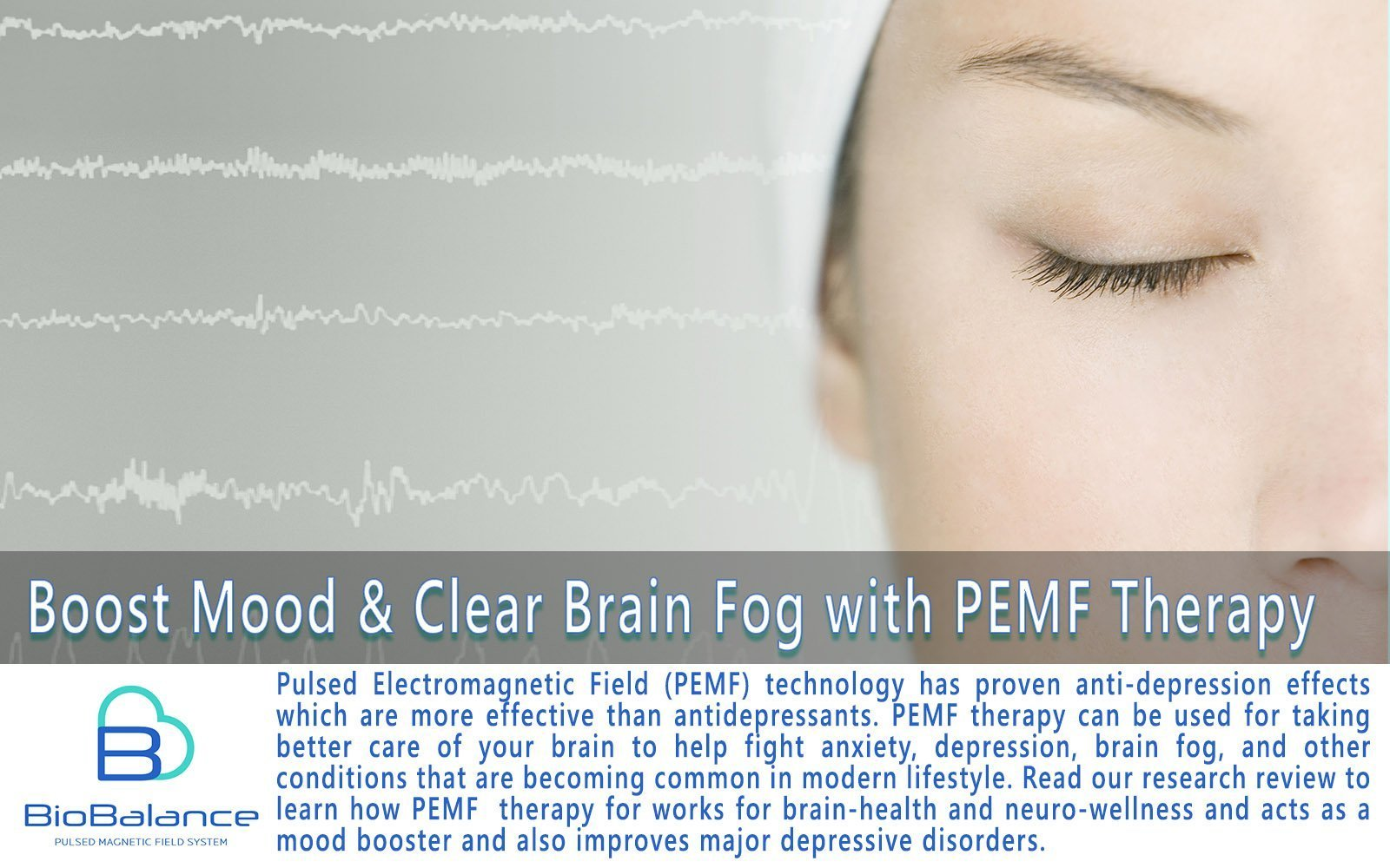 PEMF Therapy for Depression Boosts Mood & Clears Brain Fog